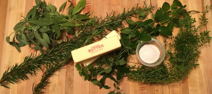 Compounding the problem: A bounty of herbs in butter