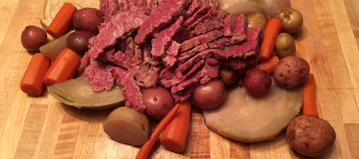 It's time for the making o' the corned beef